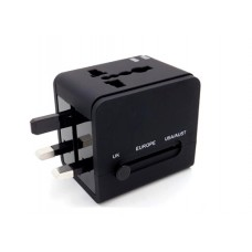 Universal Travel Adaptor with Dual USB Ports