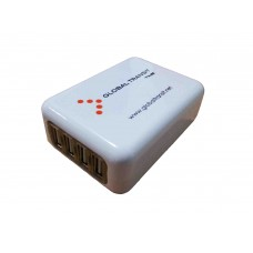 Worldwide 4 Ports USB Travel Adaptor